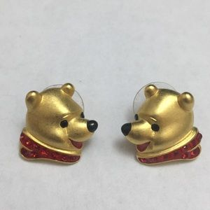 Vintage Disney Winnie The Pooh Earrings